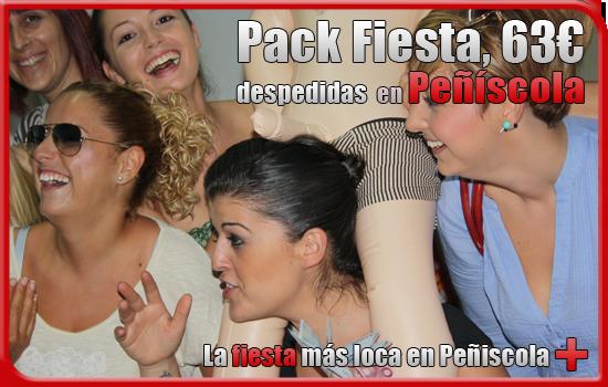 Pack fiesta despedida en Peñíscola
