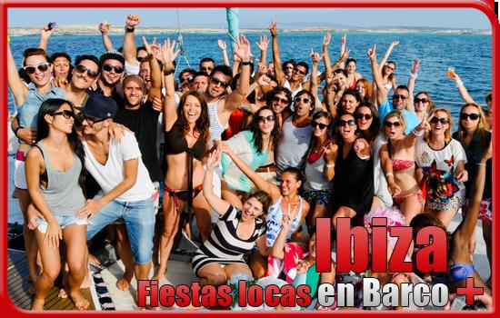 despedida en Barco Ibiza