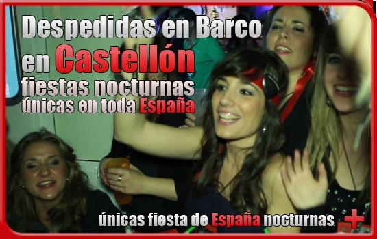 Despedidas en Barco Castellón