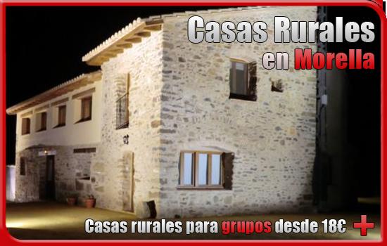 casas rurales en Morella