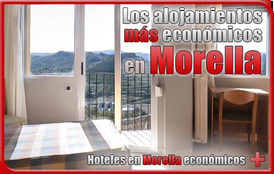 alojamientos económicos en Morella