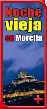Noche vieja en Morella fin de  año Morella